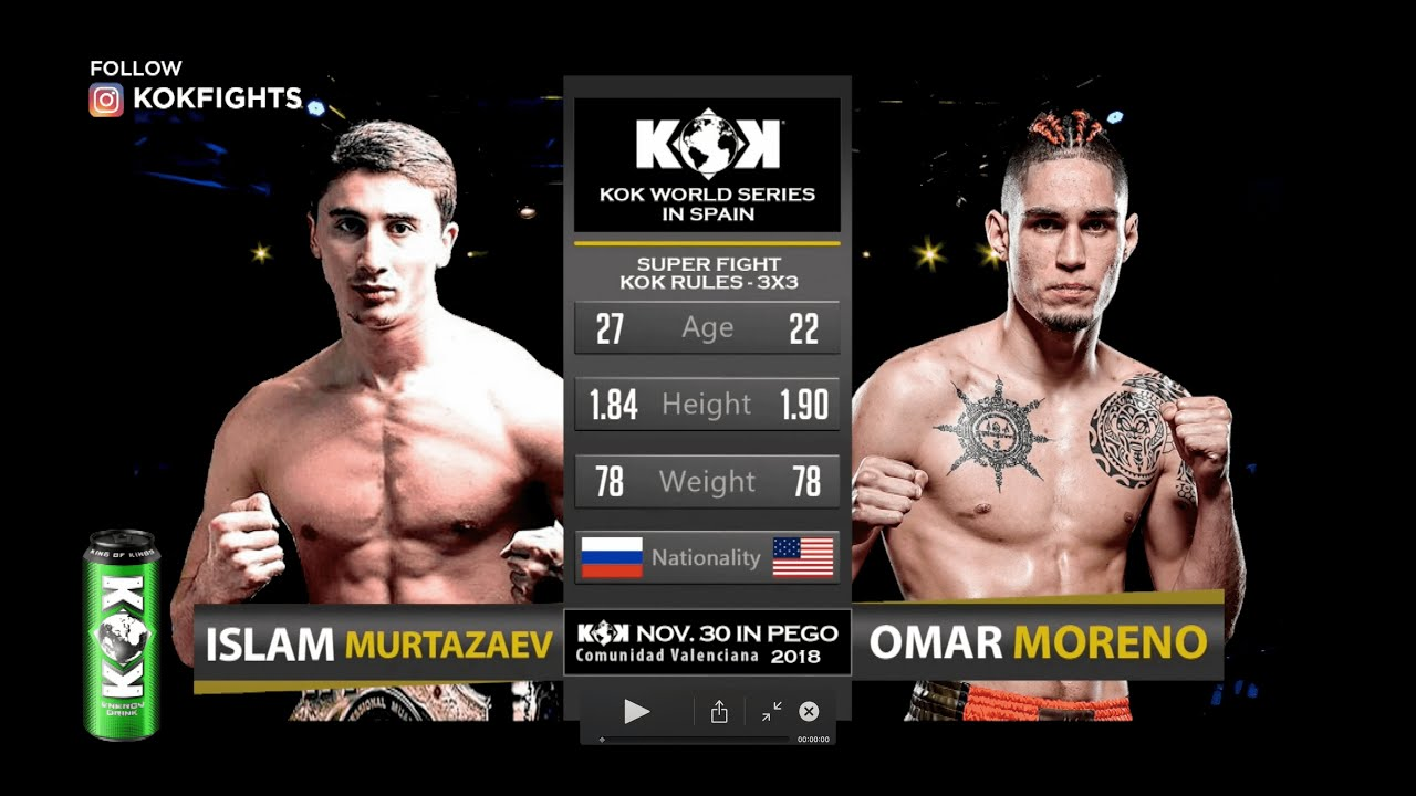 FULL FIGHT/ Flashback❗️KOK IN SPAIN / I.MURTAZAEV vs O.MORENO