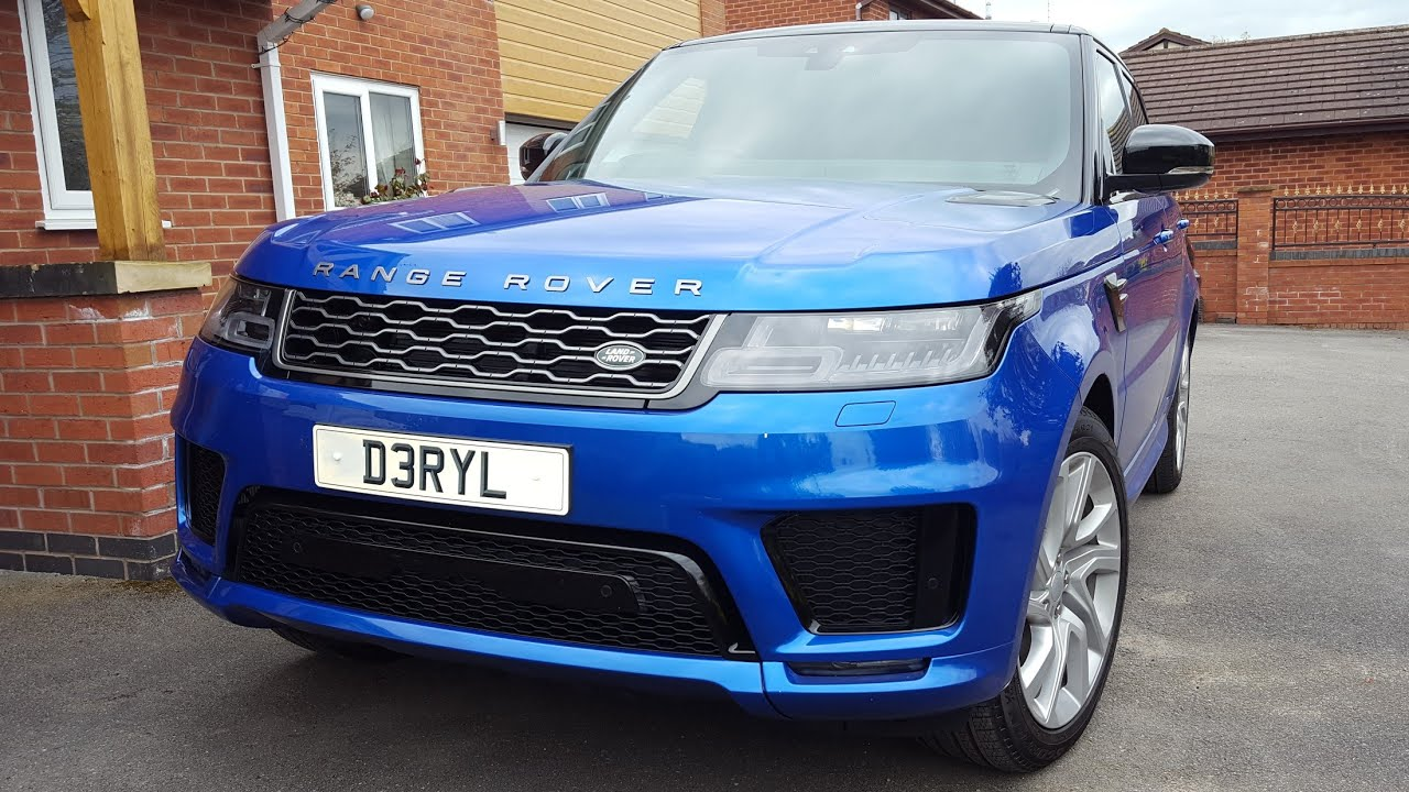 2018 Range Rover Sport In Velocity Blue Youtube