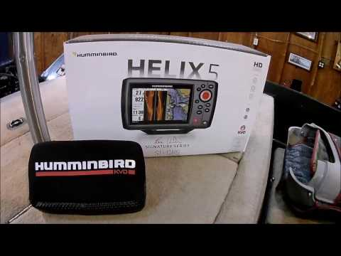 vote no on : helix 5 si gps unboxing, review, installation a, Fish Finder