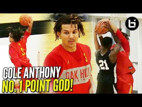 Cole Anthony w/ NEAR TRIPLE DOUBLE in Oak Hill DEBUT! 26/10/9