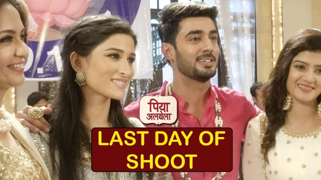 Piya Albela: Pooja & Naren's Love Story Ends| Last Day Shoot| Zee TV