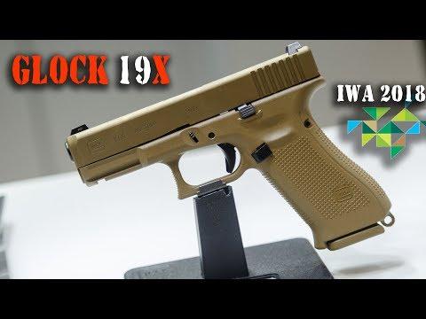 Glock 19X – пистолет-неудачник конкурса Армии США и новая тонкая линия на #IWA 2018 Outdoor Classic.
