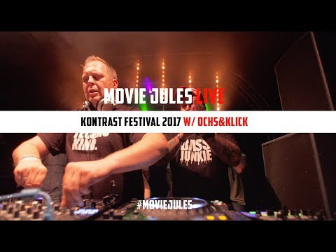 Techno: Ochs&Klick @ Kontrast Festival I MOVIE JULES I FULL LIVE SET