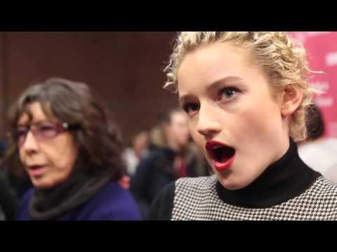 Julia Garner talks about her film Grandma at Sundance Film Festival