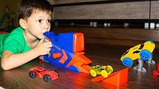 Тёма и новые игрушки NERF Nitro Flashfury Chaos Hot Wheels Крутые Машинки