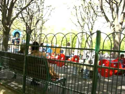 磨音 リュクサンブール公園