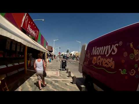 Main Street Protaras Cyprus 2017 -  part 1