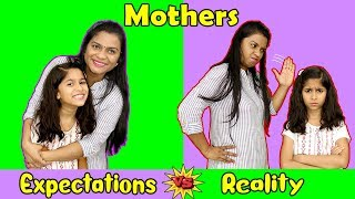 Indian Mother : Expectations Vs Reality | Pari's Lifestyle Funny Video