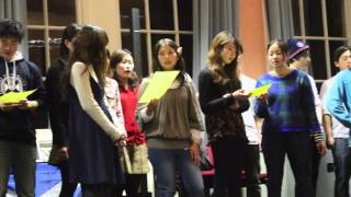 """Auld Lang Syne""  Japanese version by students from Kanazawa University"