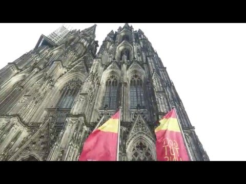 Cologne Cathedral 4k DJI Osmo