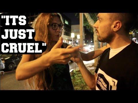 Non-Vegan Says Our Activism Is Cruel?  [Ft James Aspey]
