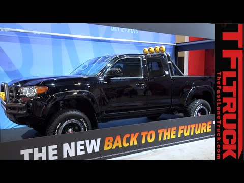 2016 toyota tacoma back to future pickup reimagined youtube. Black Bedroom Furniture Sets. Home Design Ideas