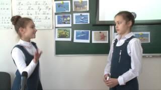 Урок французької мови у 4-у класі школи для дівчаток