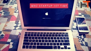 Apple MacBook air 13.3 [2017 model] 1st time startup & review in Hindi