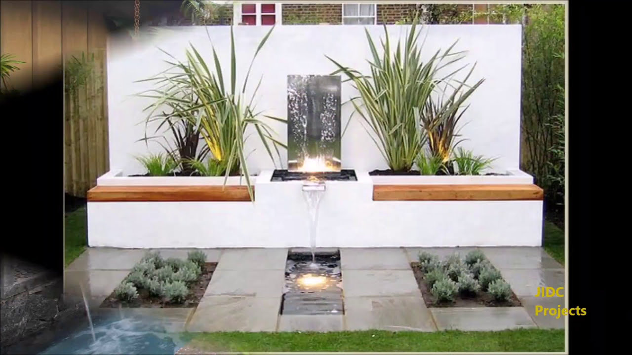 Beautiful Garden Waterfall Designs Water Fountain or water