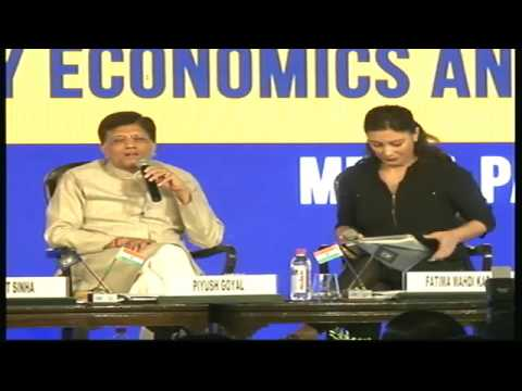 Shri Piyush Goyal addressing CII Annual Session 2017