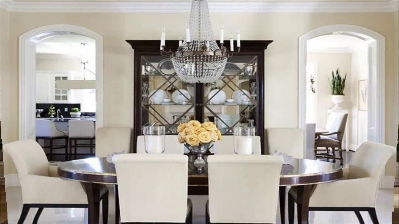 Dining Room Cabinet Decorating Ideas Youtube