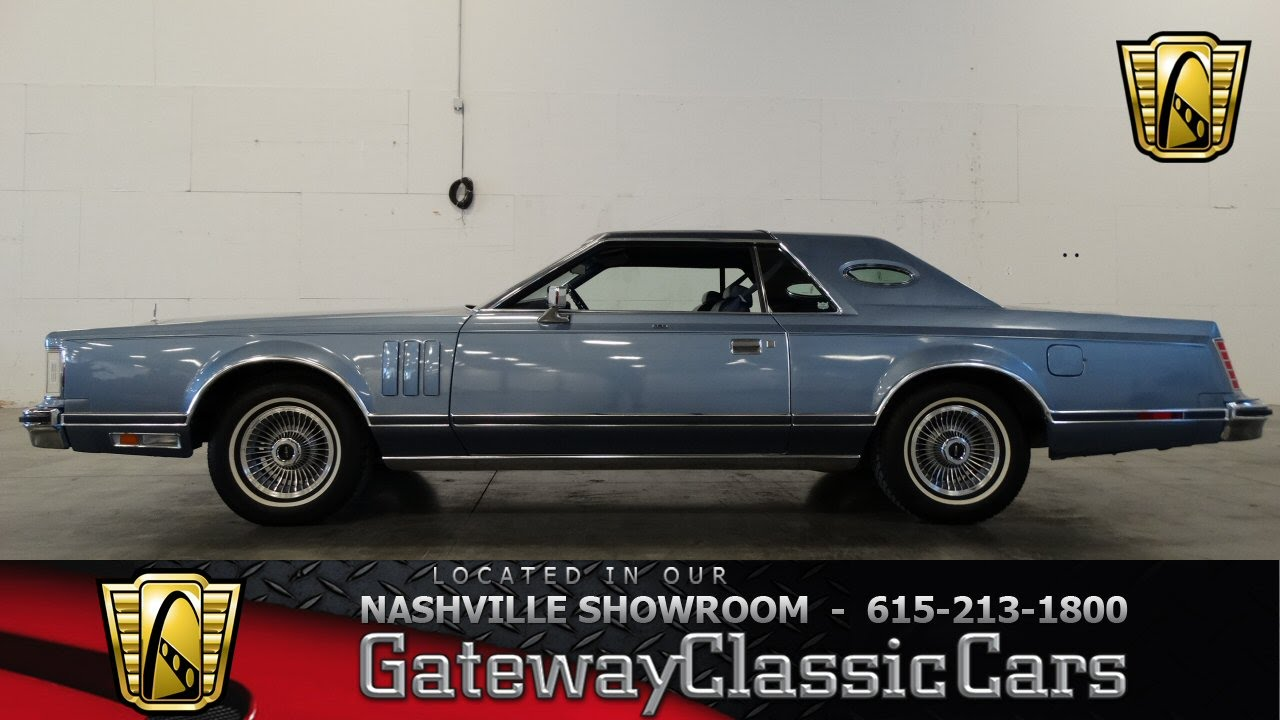 1979 Lincoln Continental Mark V Givenchy Edition Gateway Classic