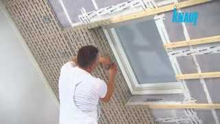 Parachever une toiture inclinée avec du Stucanet