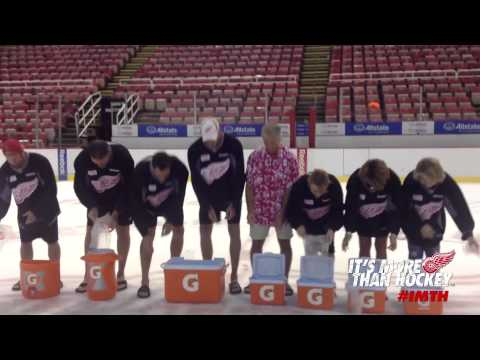 Detroit Red Wings Front Office & Training Staff - ALS Ice Bucket Challenge