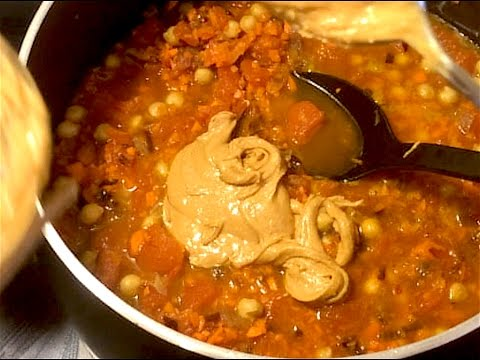 Spicy Peanut Butter Soup - You Suck at Cooking (episode 27)