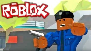 ROBLOX GTA 5!! ROBBING THE MAZE BANK IN GTA Roblox!! (Roblox Gameplay)