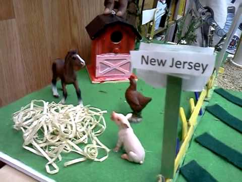 New Jersey State float by Fortune Teller
