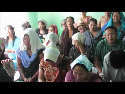 Jesus Compassion Ministries Healing Prayer  Meeting  Dharan Nepal 7  Oct 10 2012