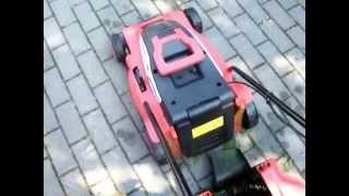 видео Электрическая газонокосилка IKRA Mogatec ERM 1000