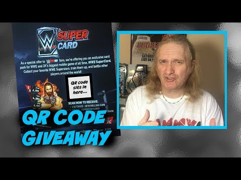 Card Back QR Code Competition : WWE SuperCard S3 Ep122