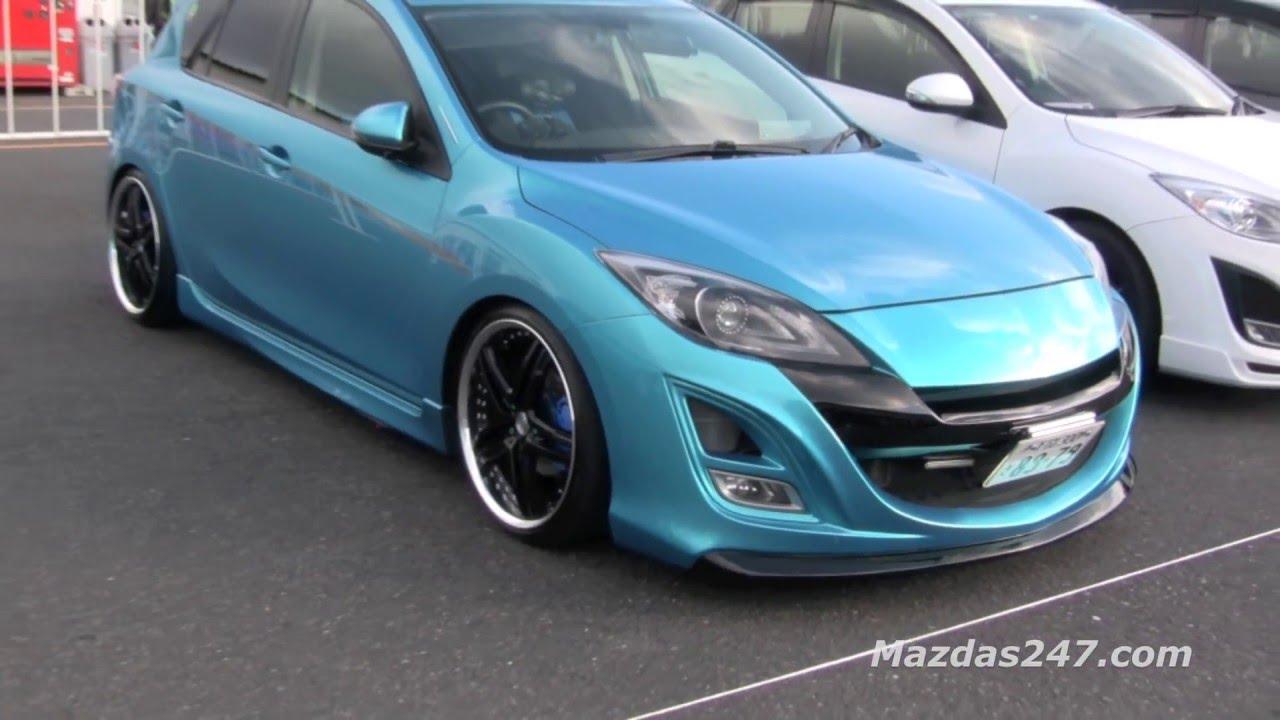 Modified Mazda3 In Japan Mazdas247 Youtube