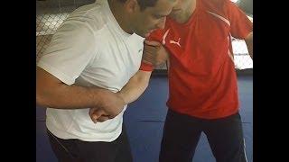 حركة الميزان بإستخدام الرأس Wresling & MMA Balance Movement Using Head