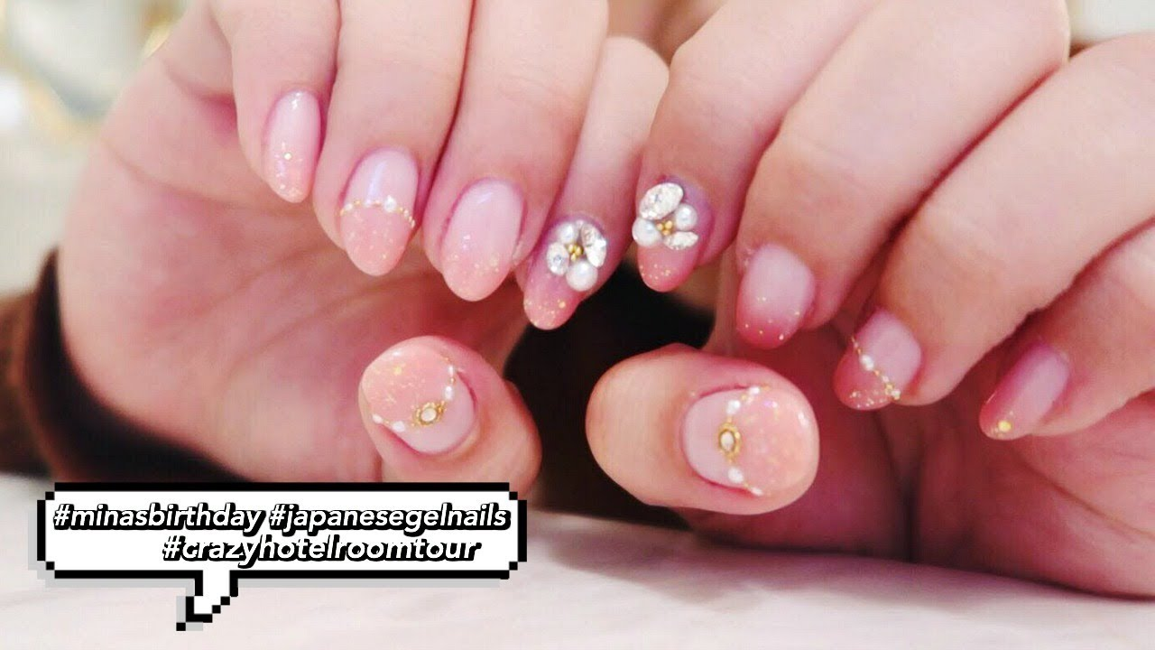 CUTEST JAPANESE GEL NAILS! kawaii ~ - YouTube