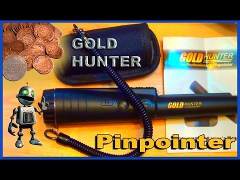 Хороший пинпоинтер. gold hunter - замер тест (мини обзор) - .