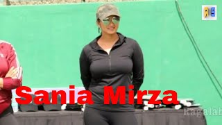 Sania Mirza hot in Hyderabad|Tennis Academy opening
