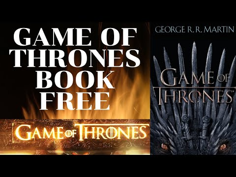 How To Download Game Of Thrones Book For Free   PDF   GOT Book Free