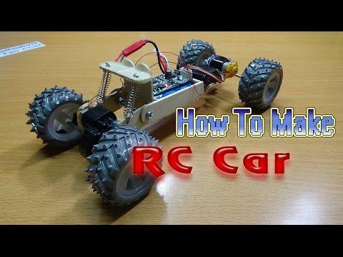 Cara Membuat RC CAR 4WD | Mobil Rc Homemade