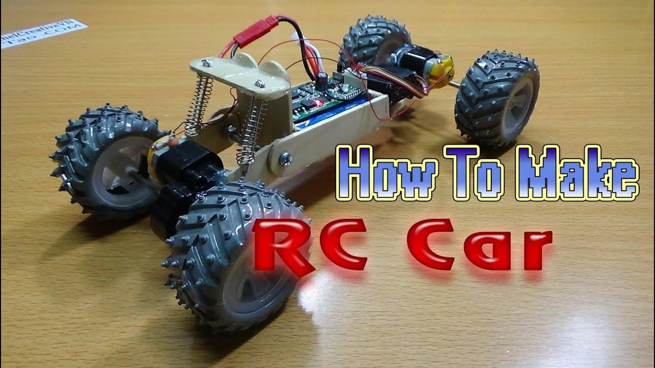 medium resolution of how to make a rc car 4wd homemade rc car