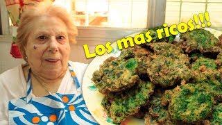 Buñuelos de Espinaca - Receta de la tía Mercedes, fáciles y ricos!  Ideas &amp Sabores
