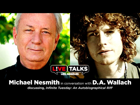 Michael Nesmith in conversation with D.A. Wallach at Live Talks Los Angeles