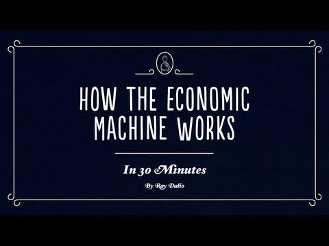 Comment fonctionne la machine économique-comment gagner de l'argent : bourse ou trading ?