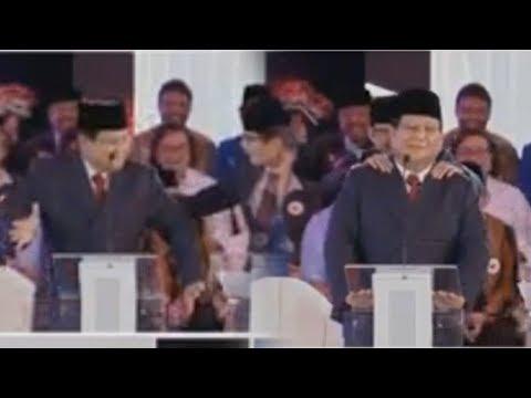 Jalannya Debat Capres Perdana Memanas, Prabowo Joget di Atas Panggung Lalu Dipijit Sandiaga Mp3