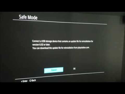 How to Reinstall System Software on PS4