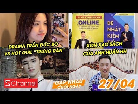 """Drama Trần Đức Bo vs Hot Girl """"Trứng rán""""   Xôn xao sách của anh Huấn Hoa Hồng - GNCN 27/4"""