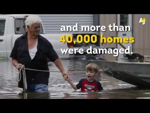Where was the media when thousands of people lost their homes to flooding?