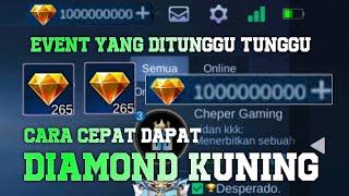 CARA CEPAT MENDAPATKAN DIAMOND KUNING SECARA GRATIS TERBARU 2021!!! PART 1