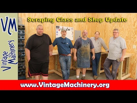 Scraping Class and Shop Update