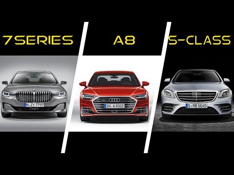 2020 BMW 7 Sereis vs 2019 Audi A8 vs 2019 Mercedes S-Class - Top Luxury German Cars