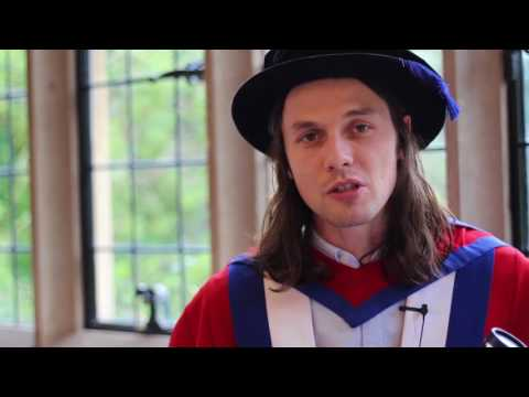 James Bay receives Honorary Doctorate of Music