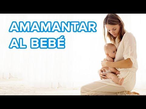 Cómo amamantar al bebé | Postura de la cuna